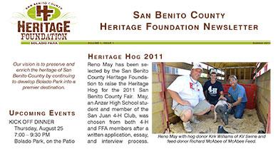 Newsletter June 2011 Volume 1, Issue 1