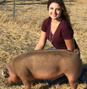 2017 Heritage Hog Recipient