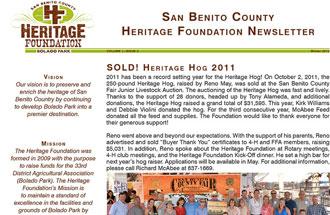 Newsletter December 2011 Volume 1, Issue 2