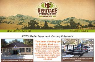 Newsletter December 2015 Volume 5