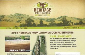 Newsletter Fall 2014 Volume 4, Issue 1