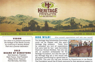 Newsletter Winter 2013 Volume 2, Issue 2