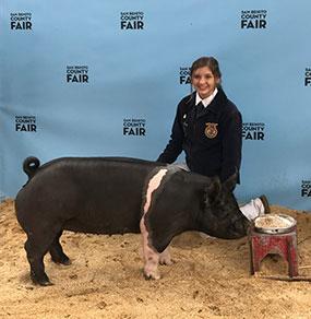 2018 Heritage Hog Recipient